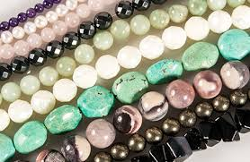 gemstone beads necklace images Gemstone beads and pearls rings things jpg
