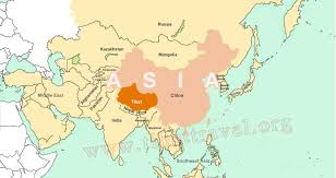Asia Rivers Map by Where Is Tibet Located On Map Of China Asia And World