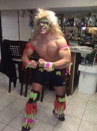Ultimate Warrior Meme - for halloween the ultimate warrior imgur
