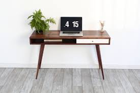 mid century modern office desk crafts home