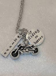 motorcycle urns motorcycle urn personalized urn necklace in heaven