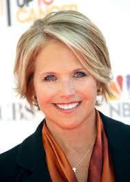 katie couric television broadcaster katie couric keeps her look