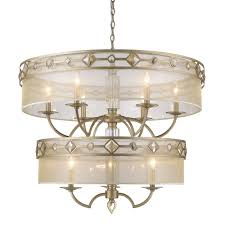 Jefferson 9 Light Chandelier Traditional - golden lighting u0027s coronada 2 tier 9 light chandelier 6390 9 wg