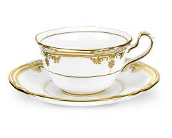 teacup and saucer 38 gold cups and saucers made in greece in 24 carat gold cups