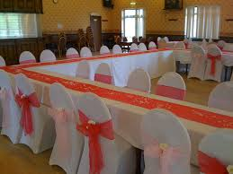 Table Linen Complete Event Hire Chair Covers Balloons Wedding And Party Decoration