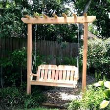 arbor swing plans free arbor swing plans perfect arbor swing plans free in home decoration