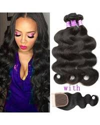 sew in with lace closure indian hair weave hair bundles hair sew in