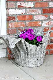 Cool Planters Diy Concrete Planter The Rustic Willow