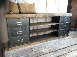bureau industriel metal bois meuble style industriel bois et metal bureau mal en socialfuzz me