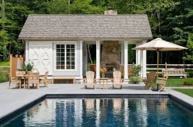 photos hgtv transitional pool house in country setting loversiq