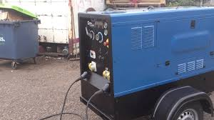 miller big blue 500x diesel welding generator for site welding for