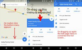 java android design like google map stack overflow