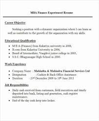 sle resume format pdf resume format for mba finance freshers pdf inspirational mba