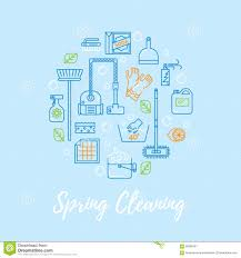 Cleaning Blogs Spring Cleaning Vector Concept Stock Vector Image 68988191