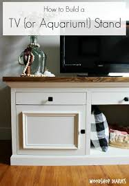 how to build a tv cabinet free plans how to build a tv or aquarium stand diy tv aquarium stand and