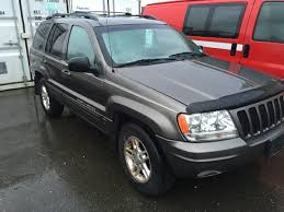cherokee jeep 2000 2000 jeep grand cherokee limited 4 door grey vin