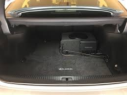 lexus ct200h speaker upgrade subwoofer install diy on factory non ml amp 2016 is200t too