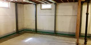 bowed walls absolutely dry basement waterproofing