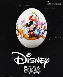 Mickey Mouse Easter Eggs Inspired Mickey Mouse Easter Eggs Printable Disney Easter Eggs Diy