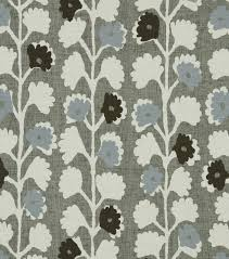 Robert Custom Upholstery Upholstery Fabric Robert Allen Surreal Vines Indigo Joann