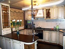 modern bar counter kitchen design ideas