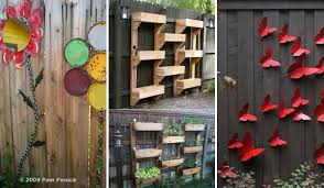Ideas To Decorate Home Top 23 Surprising Diy Ideas To Decorate Your Garden Fence