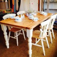 This Is One Of A Series Of Articles On Painting Pine Furniture - Pine dining room table