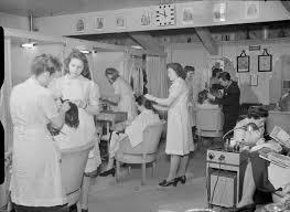 old ladies hair salon file wartime hair dresser the work of steiner s salon grosvenor