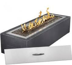 outdoor gas fireplace kit regency horizon hzo42 outdoor gas