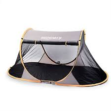 Baby Camping Bed Summery Pop Up Portable Mosquito Net Tarp Floor Free Standing