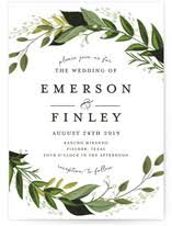 wedding invitations with pictures wedding invitations minted