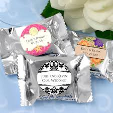personalized wedding favors cheap personalized york peppermint patty candy wedding favors