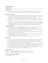 Resume Profile Section Profile Profile Of A Resume