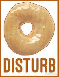 Duvet Donuts Donut Disturb Twin Peaks Inspired