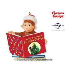 2010 merry curious george hallmark keepsake ornament at