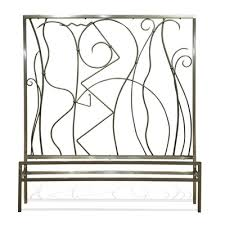 King Metal Headboard Buy Millenium Headboard Metal Finish Platinum Size
