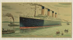 2015 new antique style movie posters titanic and others classical