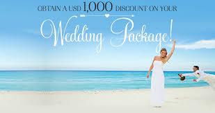 wedding package deals sandos wedding package deals for 2015 sandos