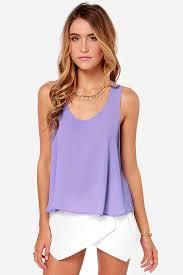 lavender blouses lavender top tank top purple top 26 00