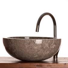 grey marble wash basin stone bathroom basin 40 cm wa002