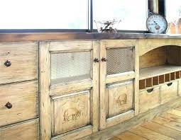 meuble de cuisine en bois massif meuble cuisine bois brut facade cuisine bois facade meuble cuisine
