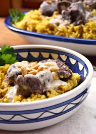 Jordanian Food 25 Of The Best Dishes You Should Eat Bint Rhoda U0027s Kitchen Lamb In Yogurt Sauce Or Mansaf For Beginners