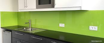 credence de cuisine en verre verre laqué sur mesure couleurs au choix professionnel au juste prix