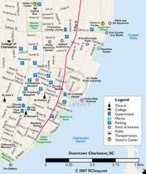 charleston trolley map charleston free downtown trolley vacation