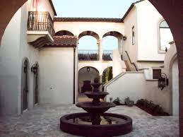 spanish house plans with inner courtyard escortsea