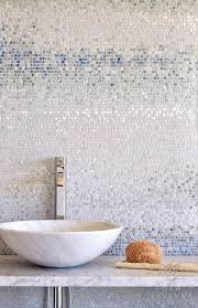 Bathroom Mosaic Tiles Ideas by Best 25 Beach Style Mosaic Tile Ideas On Pinterest Blue Glass
