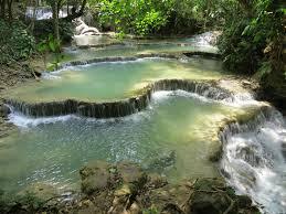 Natural Pools by Natural Pool Holiday Tat Kuang Si Waterfall Laos Pools Overview