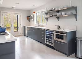 Ikea Metal Kitchen Cabinets How To Mix And Match Stainless Steel Kitchen Shelves With Your Style