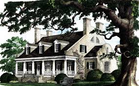 plantation home blueprints house plan 86174 at familyhomeplans com