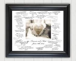 wedding autograph frame best 25 personalized wedding guest book ideas on